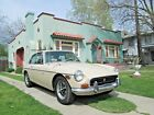 1971 MG MGB  MGB-GT, California survivor, two owners, never repainted, rare color