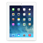 Apple iPad 2 16GB, Wi-Fi   Cellular (Verizon), 9.7in - White SEE PICS (Crack)