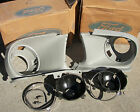 almost NOS 1967 / 68 OEM  Mustang Headlight Doors Buckets Fender Extensions GT