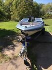 1988 Bayliner Capri boat with 125 hp Force outboard motor.