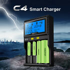Miboxer C4 VC4 LCD Smart Battery Charger for Li-ion/ IMR/ INR/ ICR/ LiFePO4