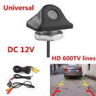 HD 600TVL 170° Waterproof Night Vision Car Backup Rear View Reverse Camera 12V