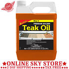 1 Gal. Teak Wood Oil Outdoor Table Chair Deck Boat Finish Furniture Preservation