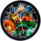 Pokemon Black Frame Wall Clock Nice For Decor or Gifts F75