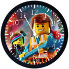 Lego Movies Black Frame Wall Clock Nice For Decor or Gifts E328