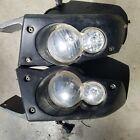 05-08 Kawasaki Brute Force 750 Front Right Left Head Lights Lamps Headlight