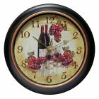Infinity Instruments Valencia Wall Clock, Brown