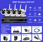 4 CH Wireless HD IP Network 1080P NVR 960P Outdoor CCTV Security Camera System
