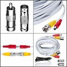BNC CCTV DVR Cable Video Surveillance Security System Camera Coaxial Wire 25 F..