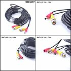 50 Feet EKYLIN All-in-One BNC Video Power DC Extension Cable CCTV Security Cam..