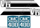 OMC 400 Stringer Stern Drive Sticker