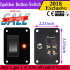 SPST 4 Pin Car Auto Boat Ignition Switch ON/OFF Rocker Toggle Push Button Panel
