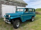 1962 Willys Station Wagon  1962 WILLYS JEEP WAGON, GORGEOUS COLOR COMBO! LOTS OF RECENT SERVICE!!