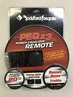 ROCKFORD FOSGATE PEQX3 / PUNCH EQ GAIN KNOB / CONTROLS UP TO 3 AMPS  **NEW**