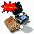 DC 12v 10A relay 1CH wireless RF Remote Control Switch Transmitter+ Receiver GX