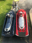 Pair of jet skis on trailer.  Family owned.  Low hours. No reserve