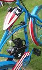 49CC MOPED SCOOTER MOTORIZED BEACH CRUISER BICYCLE GAS POWERED BIKE 4TH OF JULY