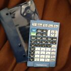 Texas Instruments TI-84 Plus KEYPAD Only With Case TI-Inspire Blue
