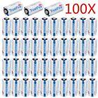 100pcs 3V 1800mAh 16340 Flashlight CR123A TrustFire Single Use Lithium Battery U