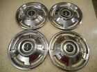 "1965 OEM Chevy Corvair Monza 13"" Hubcaps Set Of 4"