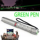 Military 10Miles 532nm Green Light Laser Pointer Pen Strong Beam Focus Lighter