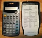 Texas Instr TI30XA Scientific Calculator w/Cover & Reference Card - VG used cond