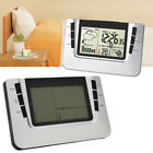 LCD Digital Indoor Wireless Weather Station Clock Calendar Thermometer Backlight