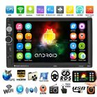 """7"""" Android 6.0 Car Radio Stereo Quad Core 3G WIFI Double 2DIN MP5 Player GPS HOT"""