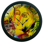 Love Wall Clock Modern Art Round Analog Home Decor 3D DIY 12 Hour Display