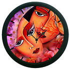 Multi Color Face Wall Clock 3D DIY Surface Art Home Decor Wall Clock Sticker