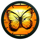 Butterfly Wall Clock  12 Hour Creative Modern Analog Display