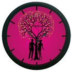 Tree Love Wall Clock  Home Decor 12 Hour Creative Modern Analog Display
