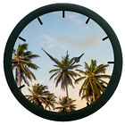 Palm Trees 3D Wall Clock Surface Art Gifted Home Decorative Watch