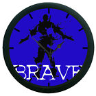 Brave Wall Clock  12 Hour Creative Modern Analog Display