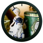 Lady In Ceramic 3D Wall Clock Surface Art Gifted Home Decorative Watch