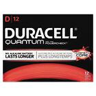 Quantum Alkaline Batteries With Duralock Power Preserve Technology, D, 72/carton