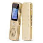 Digital Voice Recorder 8GB Portable Audio Sound Dictaphone w/ 2 Mic MP3 Player