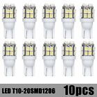 10x T10/921/194 pure white RV Trailer 20-SMD 12V Backup Reverse LED Lights Bulbs