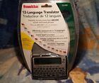 Franklin TG-450 Electonic 12-Language Translator New sealed package 2002