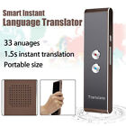 33 Languages Language Instant Smart Translator Wirelesss Trans Voice Recognition