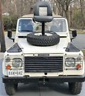 1986 Land Rover Defender White Awesome 1986 Soft-top  White Land Rover Defender D90