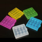 5x Portable Hard Plastic Battery Case Box Holder Storage For AA AAA Batteries