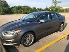 2014 Ford Fusion SE 2014 Ford Fusion SE Gray w/black leather interior in Central Ohio