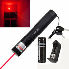 New 5mw Powerful Red Laser Pointer Pen  Focus 532nm +18650 Battery + Charger