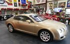 2005 Bentley Continental GT  2005 Bentley GT Rare Antique Gold w/ Saffron & Saddle