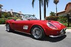 "1961 Ferrari 250 GT California Spyder ""Ferris Bueller's Day Off"" 1961 Ferrari 250 GT California Spyder ""Ferris Bueller's Day Off"""