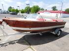 Vintage ONE OF 270 1963 Chris Craft 17' Custom Ski Boat W Trailer 283 V8 10 Hrs