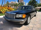 1990 Mercedes-Benz 300-Series 300 SE Black/Black