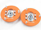 Camber Plates fit E36 Drift BMW top mounts for coilover Front x2 Domlager orange