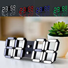 Acrylic Alarm Clocks Large Jumbo Led Modern Big Calendar Digital High Quality